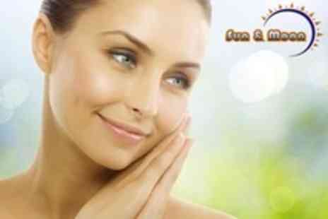 Sun and Moon Beauty - Three Facial Ultrasound Peeling Sessions - Save 76%