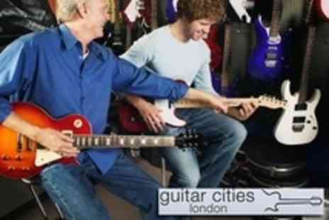 Guitar Cities - Half Day Guitar Rockshop With Professional Instruction with Guitar Cities - Save 3%