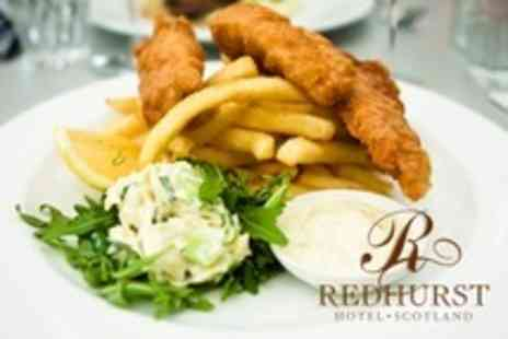 The Redhurst Hotel - Fish and Chips For Two - Save 62%