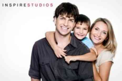 Inspire Studios - Family Photo Shoot With Print - Save 89%