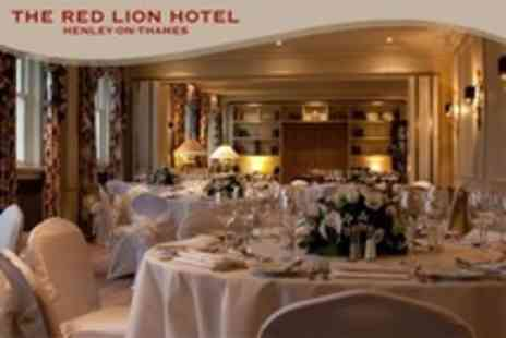 The Red Lion Hotel - Wedding Package For 50 Guests With Meal Evening Buffet and Bridal Suite - Save 52%