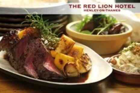 The Red Lion Hotel - Two Course Sunday Lunch For Two With Bubbly - Save 57%