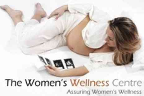 The Womens Wellness Centre - Fetal Wellbeing Growth Scan For 24 to 41 Weeks - Save 54%