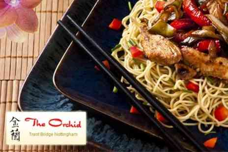 The Orchid - Two Courses Of Asian Fare With Rice For Two Plus Wine - Save 51%