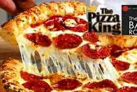 The Pizza King - TWO Hand made 12� Margherita Pizzas - Save 52%