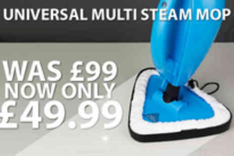 UTC London - Universal Multi Steam Mop with Portable Steamer - Save 50%