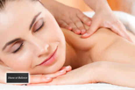 Diane At Balance - 30 min back massage - Save 61%
