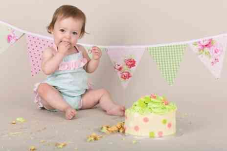 Dave Williams Photography - Birthday Cake Smash Photoshoot for Babies - Save 0%