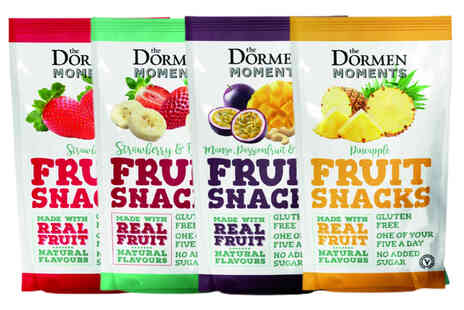 Dormen Foods - Case of fruit snacks with 24 bags - Save 63%