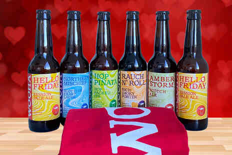 WooHa Brewing Company - Gift pack with a sixpack of beer and a shirt - Save 50%