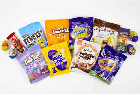GB GIFTS - 10 piece chocolate Easter egg hamper - Save 0%