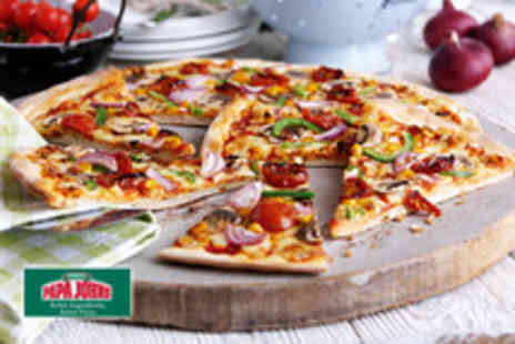 Papa Johns - 2 medium pizzas or £12 for 2 large pizzas - Save 68%