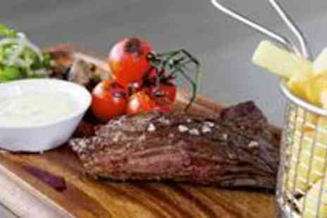 Danes Yard Kitchen - Delicious two-course meal with wine for four people - Save 61%