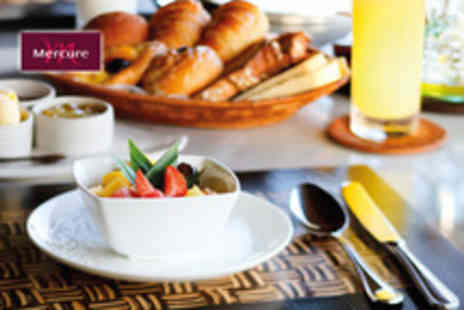 Mercure - Three course brunch for 2 plus a glass of Prosecco each - Save 50%