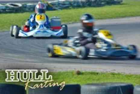 Hull Karting - 30 Minute Outdoor Go Karting Session For One - Save 56%