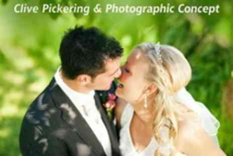 Clive Pickering - Wedding Photography Package With A4 Photo Book, Prints - Save 12%
