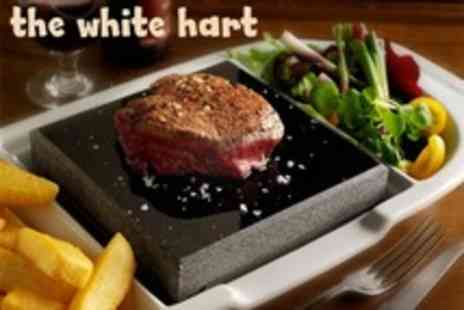 The White Hart Inn - Meat Dish Black Rock Grill To Self Cook For Two Plus Wine - Save 57%