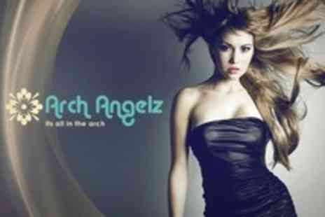 Arch Angelz - Hair Style Plus Nail File and Manicure for One - Save 57%