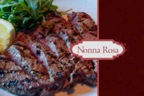 Nonna Rosa - Two Course Steak Meal For Two - Save 53%