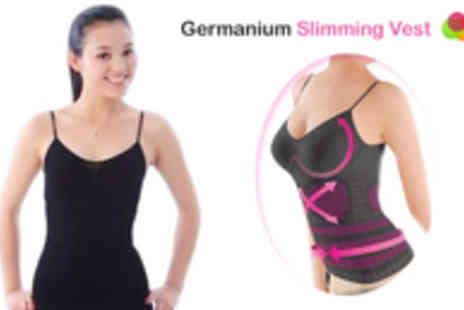 Buyitnowgifts - Achieve that summer figure today with the amazing Germanium Slimming Vest - Save 84%