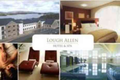 Lough Allen Hotel & Spa - 2 Nights B&B for 2 and Glass of Wine - Save 56%