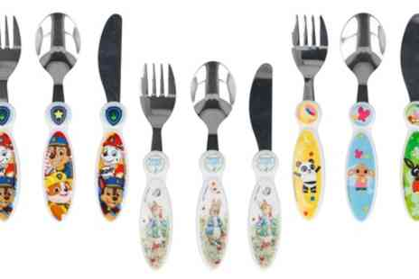 Groupon Goods Global GmbH - Childrens 3 Piece Cutlery Set - Save 34%