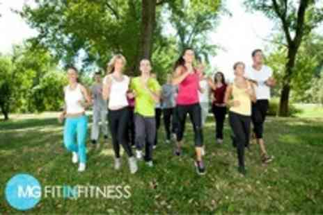 MG Fit in Fitness - Four Boot Camp Sessions - Save 76%
