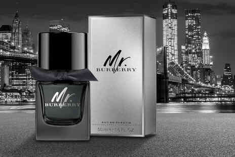 Beauty Scent - 50ml EDT bottle of Mr Burberry For Him - Save 63%