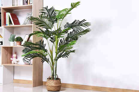 Mhstar - Outsunny artificial plant pot tree 150cm - Save 55%