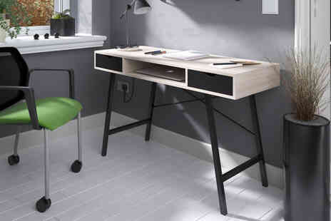 Envisage Home - Computer desk with two drawers - Save 81%