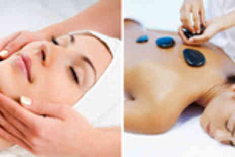 Simply Holistics with Yvonne - Relaxing hot stone body massage and luxury facial - Save 70%