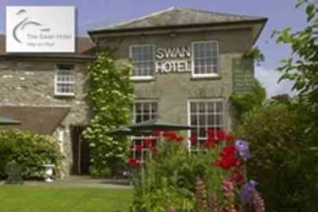 The Swan at Hay Hotel - One Night Stay For Two With Breakfast Plus Cream Tea or Glass of Wine - Save 54%