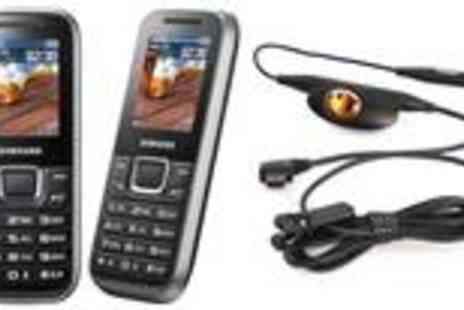 Clearancedeal.co.uk - Samsung E1230 Titanium handset - Save 62%