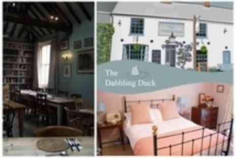 The Dabbling Duck - One Night Stay For Two With Breakfast and Bottle of Wine - Save 61%