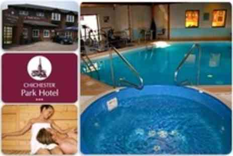 The Chichester Park Hotel - Full Use of Spa Facilities For Two With Cream Tea and Prosecco - Save 24%