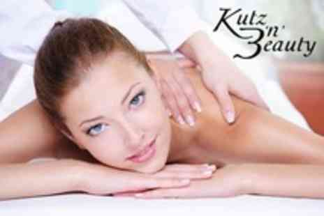 Kutz 'n' Beauty 2 - One Hour Deep Tissue Massage - Save 58%
