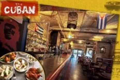 The Cuban - Tapas, Paella and Sangria For Two - Save 60%