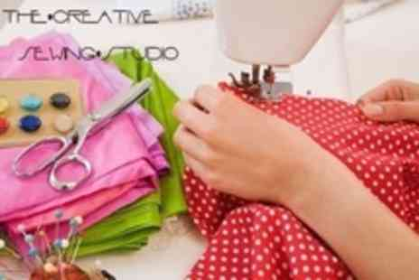 The Creative Sewing Studio - Six Hour Introduction to Dressmaking Workshop - Save 62%