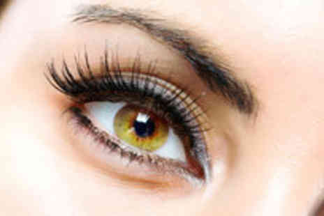 Lubna Celebrity Styles - Eyebrow shape eyebrow and eyelash tint and full individual lashes - Save 75%