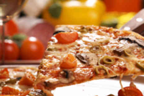 Bruschetta - Gluten Free Pizza or Pasta Dish with Wine for Two - Save 59%