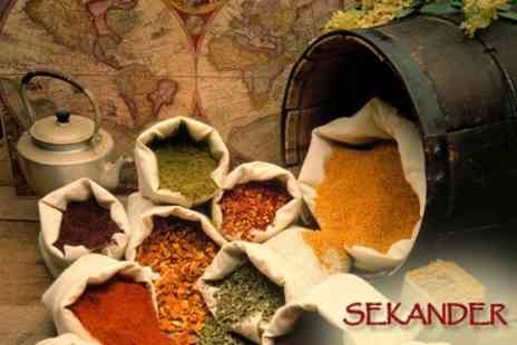 Cafe Sekander - Two Course Indian Meal - Save 57%