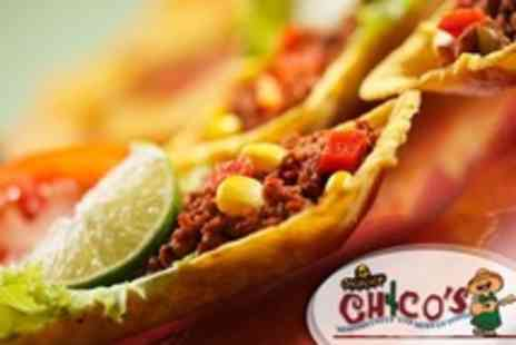 Chicos - Two Mexican Cuisine Courses For Two With Tequila - Save 51%