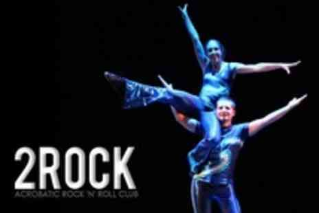 2Rock - Four Sessions Acrobatic Rock n Roll Dancing - Save 64%