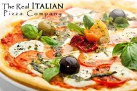 The Real Italian Pizza Co - Two Course Meal For Two - Save 56%