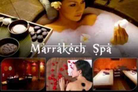 Marrakech Spa - Spa Session For Two With Hot Stone Massage and Facial Each - Save 69%