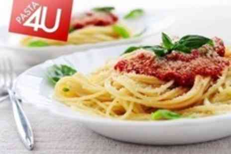 Pasta 4 U Derby - Pizza, Pasta or Salad With Curly Fries To Share and Drinks For Two - Save 61%