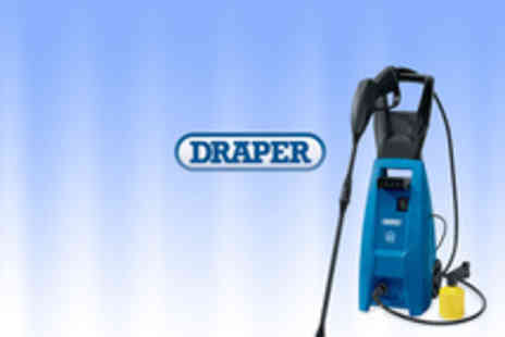 Protools Direct - Draper 1500W 230V Pressure Washer - Save 44%