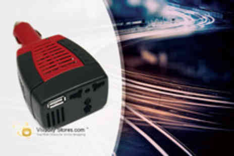 Vivacity Stores - An In Car Power Inverter Adapter - Save 75%