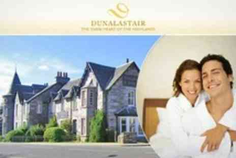 The Dunalastair Hotel - Two Night Stay For Two With Breakfast Plus Bottle of Wine and Chocolates in Perthshire - Save 56%