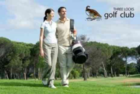 Three Locks Golf Club - 18 Holes of Golf For Two - Save 20%